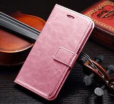 Luxury Leather Card Wallet Flip Case Samsung Galaxy S4 S5 S6 S7 Edge Note 3 4 5