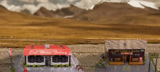 1:87 Scale Diner & Bait Shop Photo Real Scale Building Kit / Trains Accessories