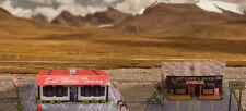 1:87 Scale Diner & Bait Shop Photo Real Scale Building Kit / Trains Accessories