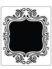 "Crafts Too Embossing Folder ""Fancy Frame"" Ctfd4021 For Cards"
