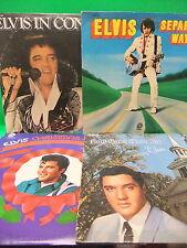 Elvis Presley 5 LP LOT In Concert, Separate Ways, Christmas, How Great Thou Art