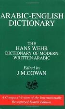 A Dictionary of Modern Written Arabic by Hans Wehr (Paperback, Student Edition)