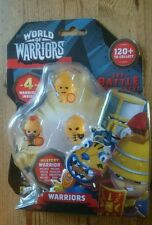World of Warriors 4 Figurines Including a Mystery Warrior in