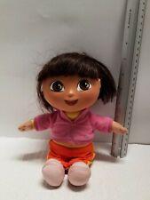 "DORA The EXPLORER Talking DORA SURPRISE Doll Nickelodeon Jr 2002 Mattel 9"""