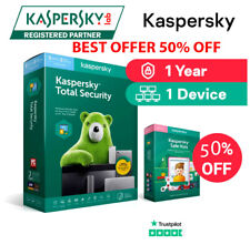 Kaspersky Totale Security 2021 Global key🔑1 Device 1 year PC/Mac/Android