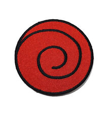 NEW NARUTO USUSHIO CLAN UZUMAKI LOGO EMBROIDERED SEW IRON ON PATCH SHIRT PO603