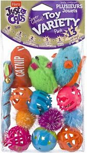 Hartz Just For Cats Toy, 13 Ct, Variety Pack