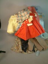 10 Pieces of Doll Clothing Dresses Skirts and a Coat Look!