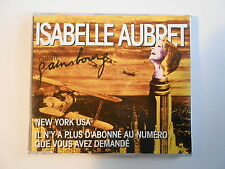 """ISABELLE AUBRET chante GAINSBOURG : NEW YORK USA [ CD-MAXI  PROMO """"MEYS"""" ]"""