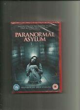 Paranormal Asylum  . DVD / NEW .