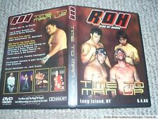 ROH Wrestling DVD Time to Man Up 2006 english WWE WWF WCW TNA AWA NWA DWA wXw