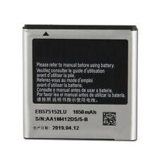 Replacement Battery For SAMSUNG I9000 I589 I8250 I919U I9003 EB575152LU 1650mAh