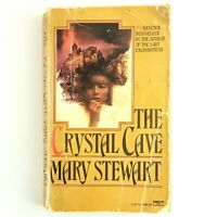 The Crystal Cave by Mary Stewart Vintage Paperback King Authur Legend Merlin
