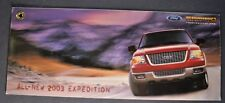 2003 Ford Expedition Truck Sales Brochure Excellent Original 03