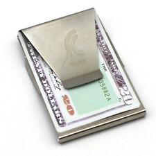 Slim Clip Double Sided Money Clip Credit Card Holder Wallet Stainless Steel