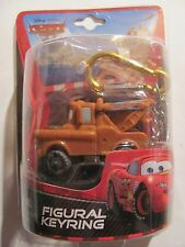 Disney Pixar Cars Tow Mater Figural Keychain Keyring #21432 New