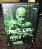 REEL EVIL DVD MOVIE, JESSICA MORRIS, JEFFREY ADLER, MICHAEL CLINE, HORROR, GUC