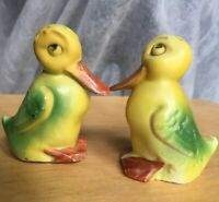 Antique Vintage Germany Duck Salt And Pepper Shakers - 3539