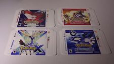 Nintendo Pokemon X, Y, Omega Ruby and More NO GAME  DISPLAY PROMO BOX'S ONLY