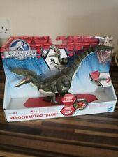 Jurassic World Blue Velociraptor Dinosaur Action Figure Park 2015 Growler Sounds
