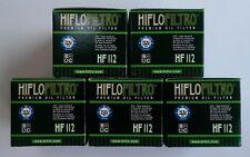Kawasaki KLX140 / KLX140L (2008 to 2017) HifloFiltro Oil Filter (HF112) x 5 Pack