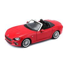 BBURAGO 21083 FIAT araignée rouge échelle 1:24 maquette de voiture NOUVEAU ! °
