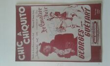 -Autographe georges guetary
