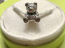 Chamilia Teddy Bear Pink Swarovski Crystal JA-48 2009 limited edition