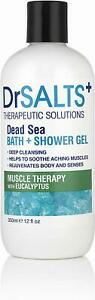 Drsalts Dead Sea Bath Salts Relax Muscle Therapy With Eucalyptus 350ml