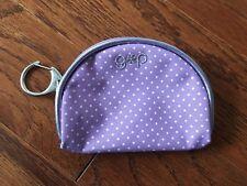 Small Purple Coin Purse / Pouch - GAP - 100% Cotton - New