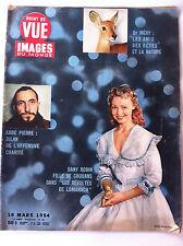 POINT DE VUE du 18/03/1954; Abbé Pierre, le Bilan/ Dany Robin, fille de Chouans