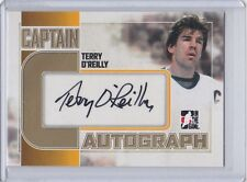 """BOSTON BRUINS 2011-12 ITG TERRY O'REILLY CAPTAIN """"C"""" GOLD VERSION SP /10 AUTO"""