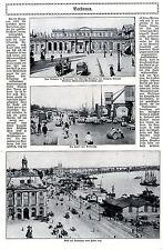 BORDEUAUX (Poincarè fuga) con 3 fotografie storico di 1914 * WW 1