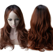 Thick Long Fancy Dress Wig Straight Curly Wavy Full Wigs Heat Resistant Fashion