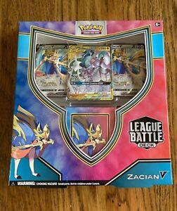 Pokemon TCG Zacian V  League Battle Deck - Brand New in Stock