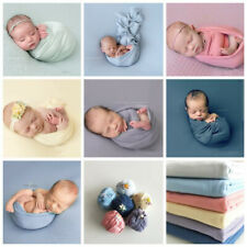 Newborn Photography Props Baby Swaddling Wrap Blanket Backdrop Background Cloth