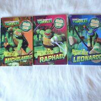 Nickelodeon TEENAGE MUTANT NINJA TURTLES Book 1-3 3 Pack ACTION Comedy SUPERHERO