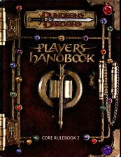 PLAYERS HANDBOOK CORE RULEBOOK 1 EXC! TSR DUNGEONS & DRAGONS AD&D D&D
