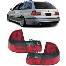 Faros Traseros Rojos Negro Rojo para BMW 3er E46 98-05 Familiar Touring