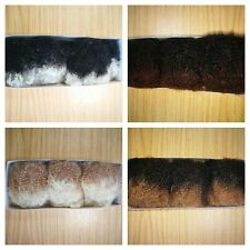 UK: For Dreadlocks wrapping only: Super Soft 100% Human Hair Afro Kinky BULK