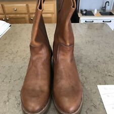 Brown Chippewa Boots Size 13D