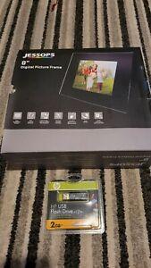 """Jessops 8"""" Digital Picture Frame"""