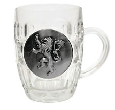 Game of Thrones - House of Lannister Metallic Logo - Crystal Stein