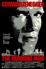 Running Man Schwarzenegger Action Movie Poster Iron On Tee T-Shirt Transfer A5