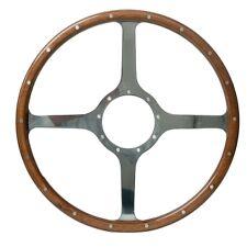 """Moto-Lita Classic 4 Laminate Rim 16"""" Steering Wheel"""