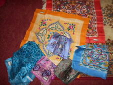 Unbranded Multi-Coloured 100% Silk Scarves for Women