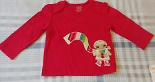 NWT 2T Gymboree WINTER CHEER Gingerbread Embroidered Top,Shirt