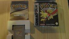 Pokémon: Goldene Edition (Game Boy Color, GBC) OVP mit Anleitung, Speichert