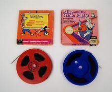 Lot of 2 Walt Disney Super 8 MM Color Film White Rabbit Jumbo Cartoon Parade #1