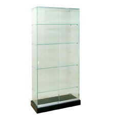glass tower display case products for sale ebay rh ebay com